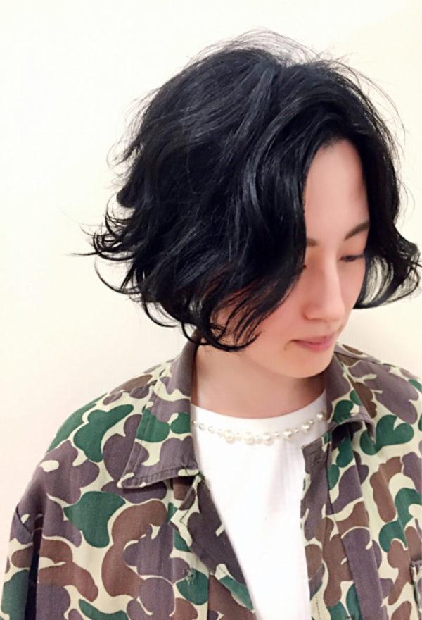 ふわっとウェーブ髪型例6