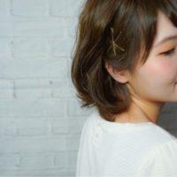 手軽なのに超おしゃれ☆ゴールドピンを使いこなして可愛くヘアアレンジしよう!