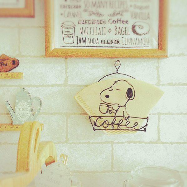 コーヒーフィルター入れもワイヤークラフトで作れますよ!可愛いだけでなく実用的な物を作れるようになるとうれしいですね♪