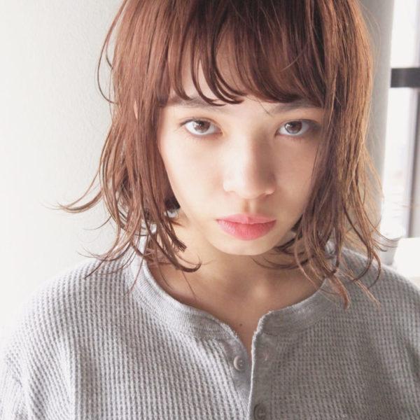 ふわっとウェーブ髪型例8