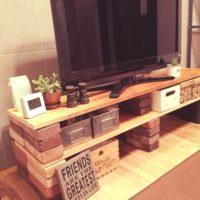 レンガと木材で作る♪おしゃれなテレビ台のDIYアイデア特集☆