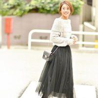 やっぱり可愛いチュールスカート♡大人女子の着こなし術をご紹介!