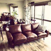 UNICO(ウニコ)のソファで、温かなカフェオレ色のインテリアコーデを楽しもう☆