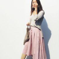 大人かわいい春コーデに取り入れたい♡フィッシュテールスカート♡