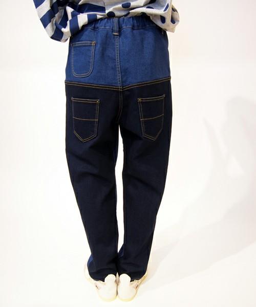 後ろのポケットが二段になるような、かなり個性的なデザインも。他にはないデザインで、お友達と差がつけられそう。