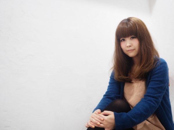 【ロング】前髪ぱっつん髪型集6