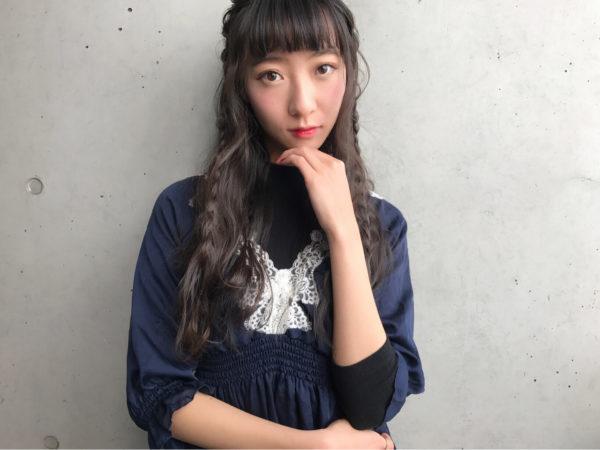 前髪ぱっつんアレンジ集6