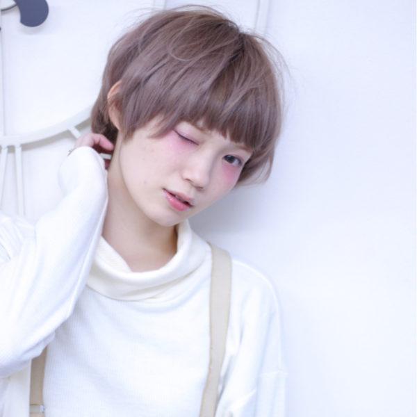 【ショート】前髪ぱっつん髪型集3