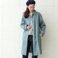 鮮やかなカラーでスタイルを格上げ!春に向けて明るいカラーのコートをプラス☆