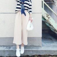 足元から春を演出☆無印良品の白スニーカーを使った大人可愛い着こなし集