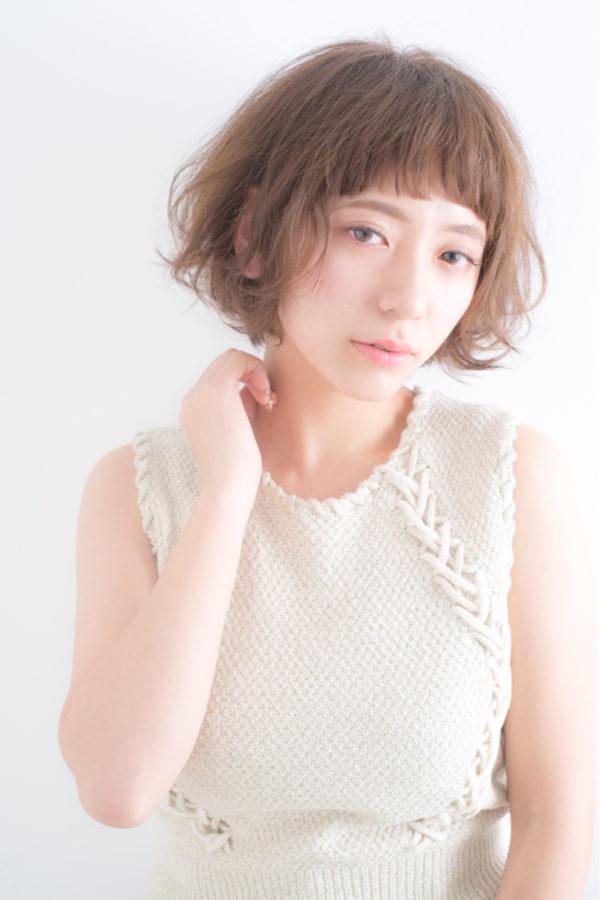 【ショート】前髪ぱっつん髪型集8