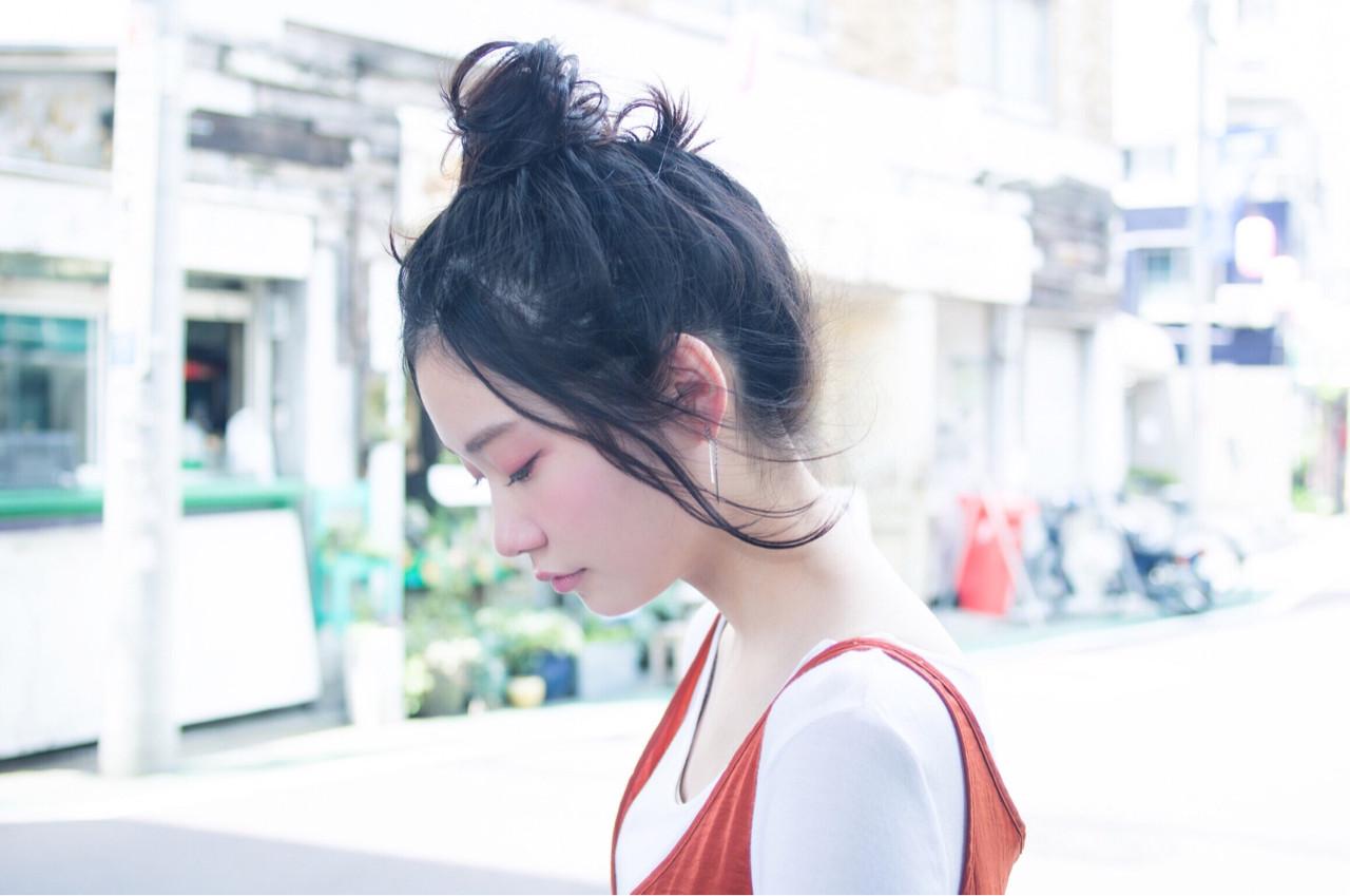 黒髪ロングヘア15