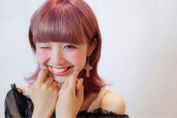 【ミディアム】前髪ぱっつん髪型集6