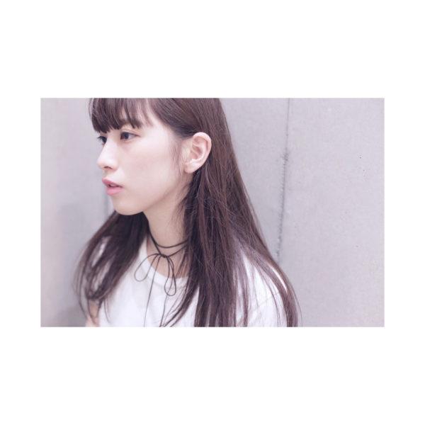 【ロング】前髪ぱっつん髪型集8