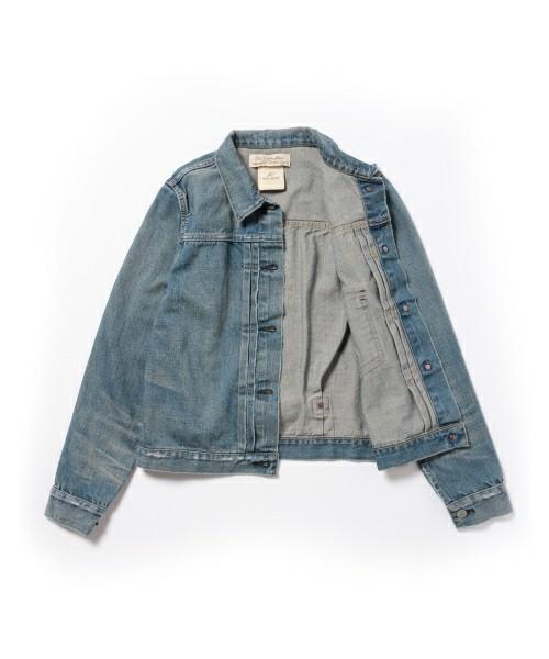 ◆REMI RELIEF×Ray BEAMS別注 デニム1stジャケット  Ray BEAMSがデニムブランドの「REMI RELIEF」に別注して作らせたデニムジャケット。高い技術を用いたヴィンテージ加工が、絶妙なユーズド感を出してくれたいます。フロントのピンタックも魅力。