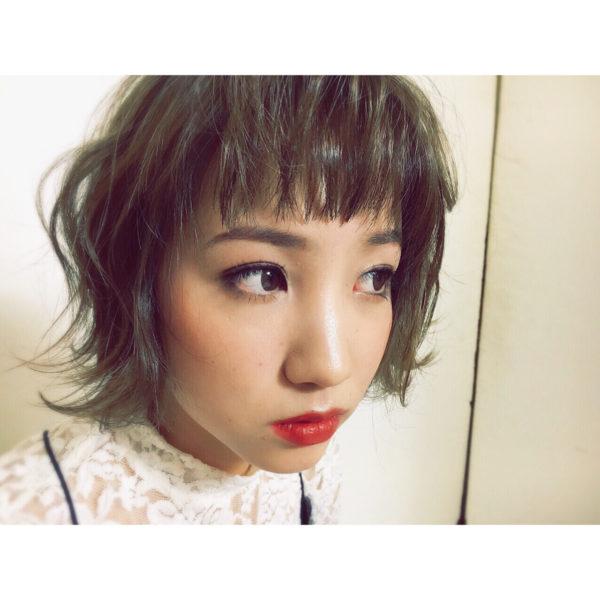 【ショート】前髪ぱっつん髪型集4