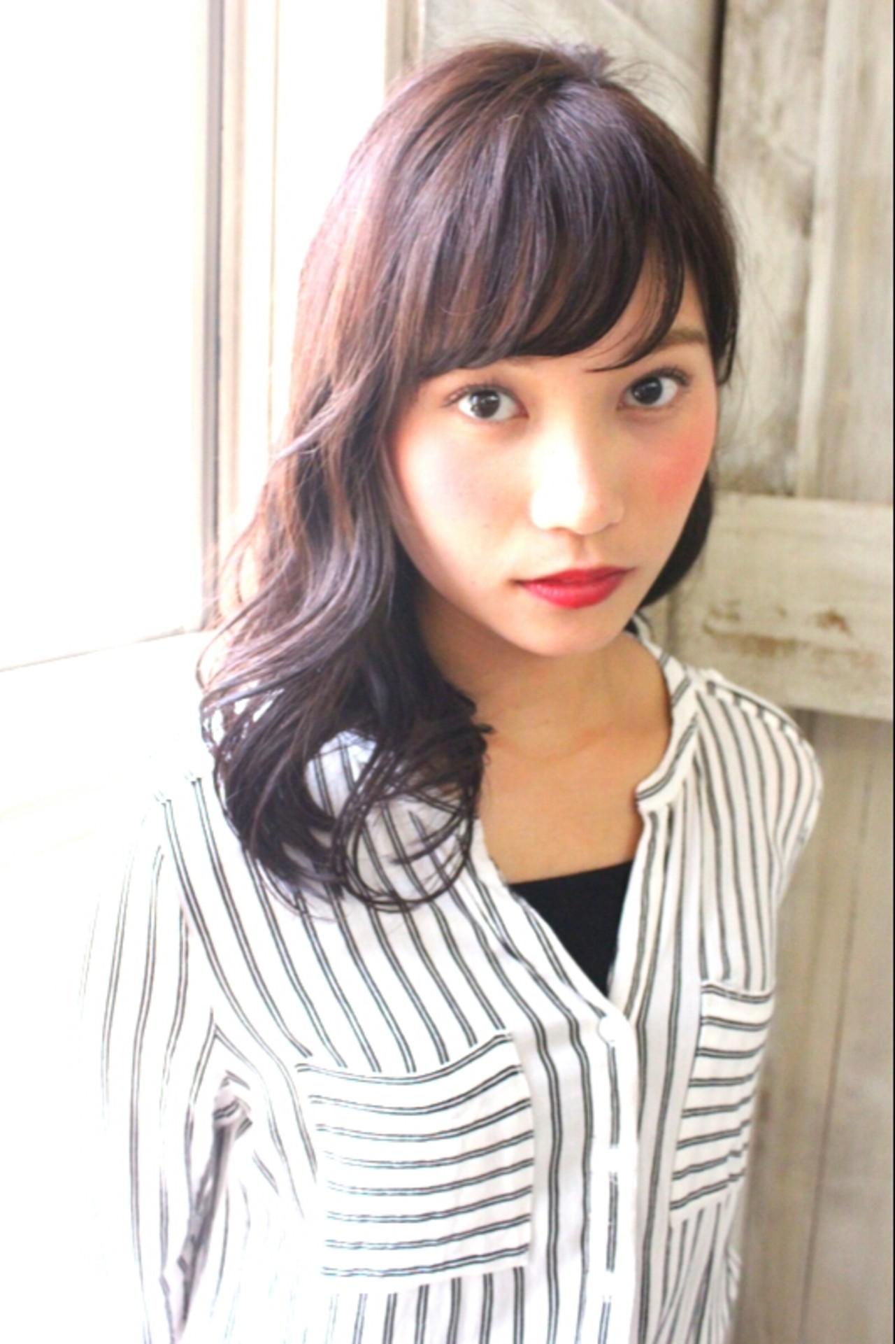 黒髪ロングヘア10