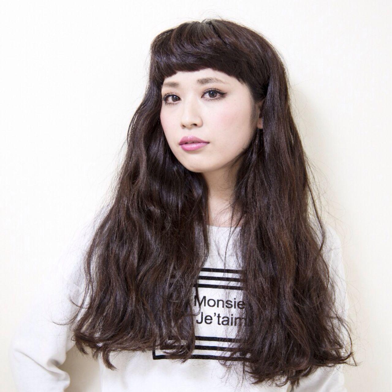 黒髪ロングヘア26