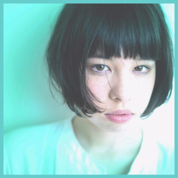 【ボブ】前髪ぱっつん髪型集6