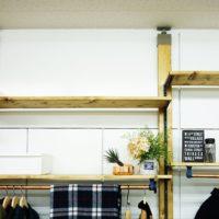 賃貸でもOK。部屋の印象が大きく変わる簡単・便利なラブリコ棚♪