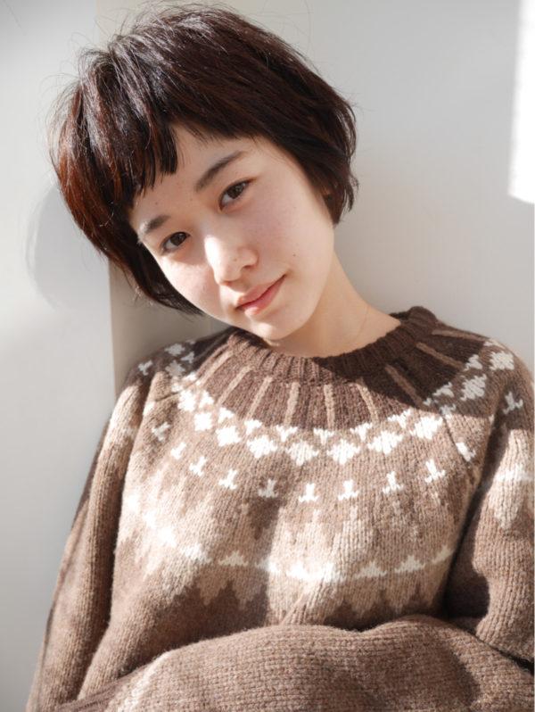 【ショート】前髪ぱっつん髪型集2