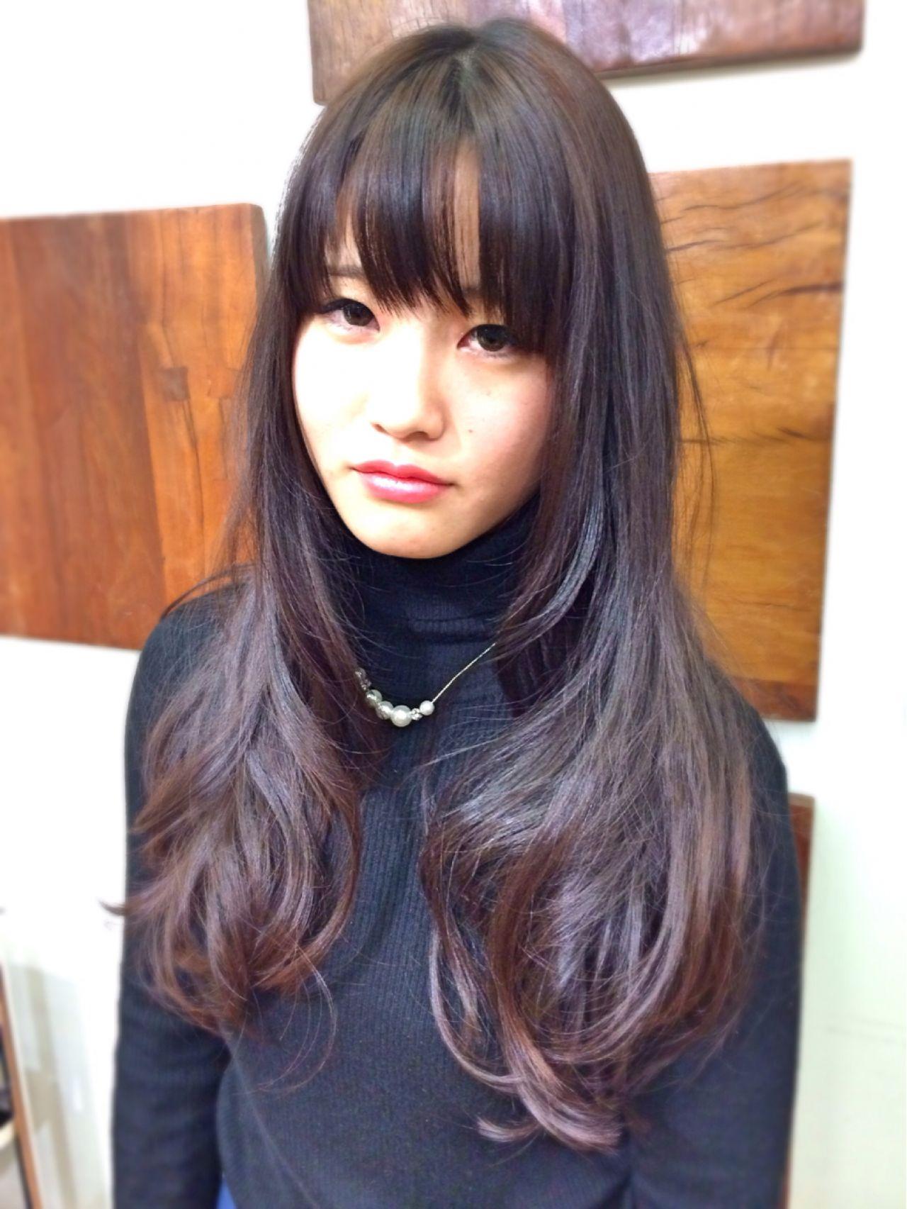 黒髪ロングヘア12