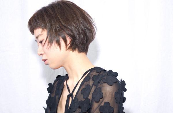 【ショート】前髪ぱっつん髪型集6