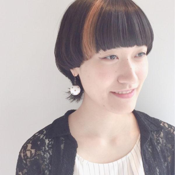 【ショート】前髪ぱっつん髪型集9