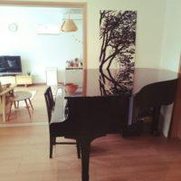 憧れのグランドピアノ!があるお部屋のインテリアコーディネイトとは?