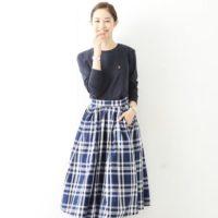 春らしさを着よう♡サーキュラースカートで作るふんわり可愛い大人女子コーデ