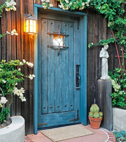 マイホームの第一印象は扉で決まる☆かわいい海外ホームのドアをご紹介します! Folk