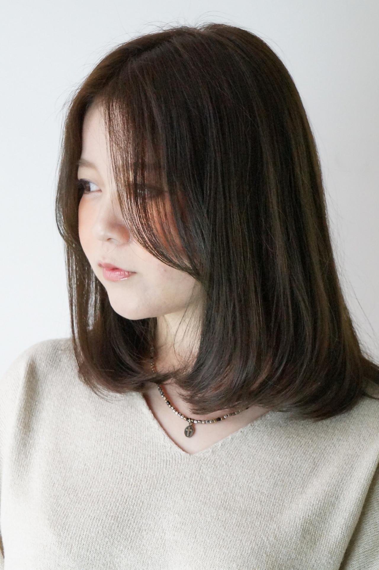【黒髪】ストレートボブ13