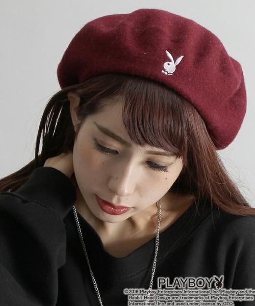 無地デザインが多く溢れているベレー帽は、あなたらしさを表現するワンポイントを選んで、どんな時もあなたの相棒に!