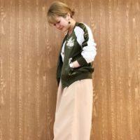 春のおすすめコーデ集☆気になる大人女子のスタジャンとスカジャンの着こなしは?