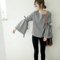 大人可愛いデザインが豊富♡今季のギンガムチェックシャツで爽やかキュートな春コーデ!