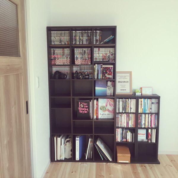 DVD収納①棚に収納する7