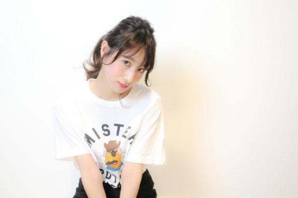 前髪アレンジ13