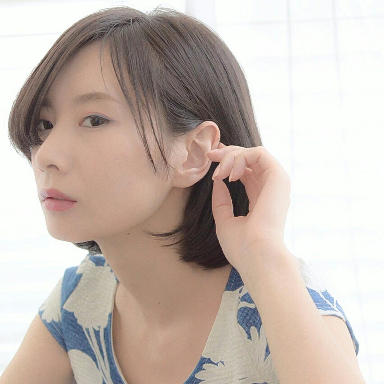 【前髪あり】ストレートボブ11