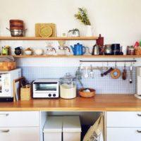自分のお気に入りを飾って楽しく♪キッチンの見せる収納アイディアをご紹介☆