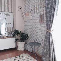 どっちも素敵!サブウェイタイル風壁紙&コンクリート風壁紙を使ったお洒落インテリア