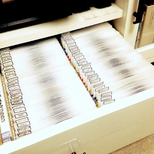 DVD収納③ファイルで収納する4