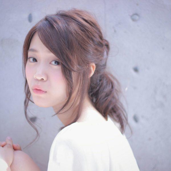 前髪アレンジ10