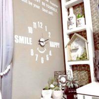 壁一面が時計に!オシャレで楽しいデザインのウォールクロック☆