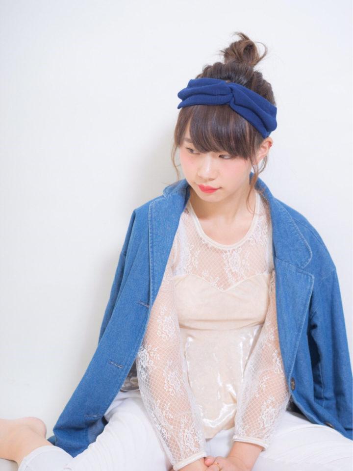 ぱっつん前髪2