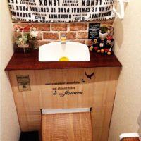 意外と簡単!プチプラでできるおしゃれなタンクレス風トイレのDIYアイディア集