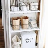 レジ袋・ビニール袋・ゴミ袋の収納方法特集!きれいに収納できてさっと取り出せる☆