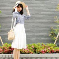 春はやっぱり白スカートが可愛い♪程よい甘さが魅力的な大人女子の履きこなし選