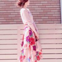 春の暖かな陽気に誘われて♪ZARAのスカートコーデ集