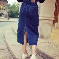 春を楽しむデニムスカートを使ったコーディネートをどうぞご覧ください♡