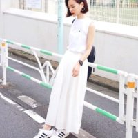 春夏の必須のアイテム!爽やかなスタイリングにはGUの白パンツがおすすめ♡